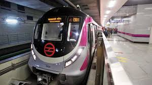 Delhi Metro, Magenta Line